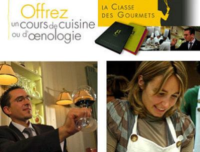 illustration de La classe des gourmets : offrez un cours de cuisine