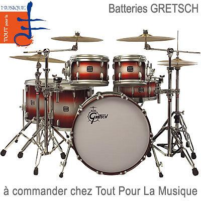 illustration de Batteries, percussions et tout pour la musique ...