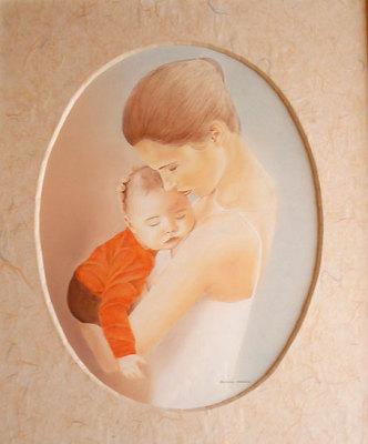 illustration de Idée de Cadeau à un mois de la fête des mères : Faites réaliser le portrait de votre choix !