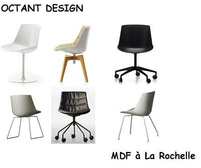 illustration de Flow Chair de MDF à la rochelle chez Octant Design