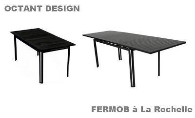 illustration de Table Costa Fermob à la Rochelle