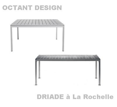 illustration de Table Thali de Driade chez Octant Design