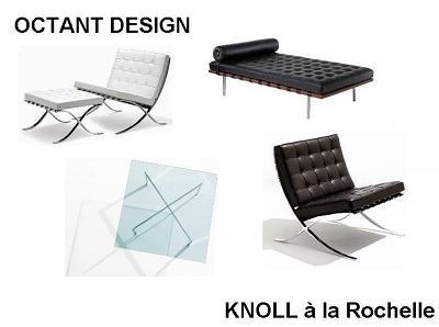 illustration de Gamme Barcelona Knoll chez Octant Design à la Rochelle