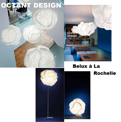 illustration de Suspension Cloud Belux chez Octant Design