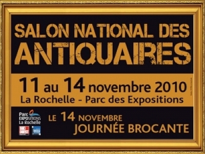 illustration de Osez l'Art s'invite au Salon des Antiquaires de La Rochelle du 11 au 14 novembre à la Foire Expo de la Rochelle