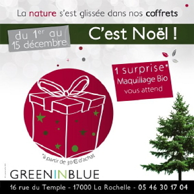 illustration de La Rochelle : beauté bio : une surprise vous attend jusqu'au 15 décembre 2010