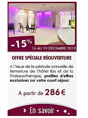 illustration de La Rochelle - Châtel' : séjours thalasso en promo du 16 au 19 décembre 2010 !