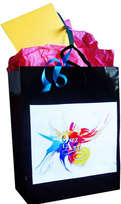 illustration de La Rochelle : Idée Cadeau pour Noël - Pourquoi pas un Bon cadeau pour une oeuvre d'art !