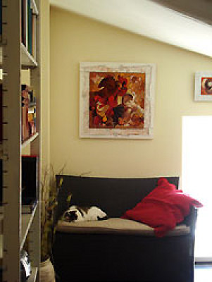 illustration de Galerie d'Artistes en ligne : Vente de tableaux sur Internet - Découvrez 7 Jours pour l'Adopter, une exclusivité Osez l'Art !