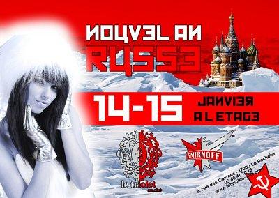 illustration de La Rochelle : Nouvel An russe vendredi 14 et samedi 15 janvier 2011