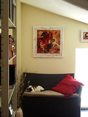 illustration de Galerie d'Artistes en ligne : Acheter un tableau sur Internet - Découvrez 7 Jours pour l'Adopter, une exclusivité Osez l'Art !