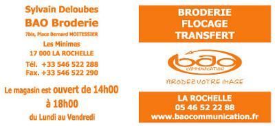illustration de A La Rochelle en Charente Maritime, faites broder vos textiles !!!