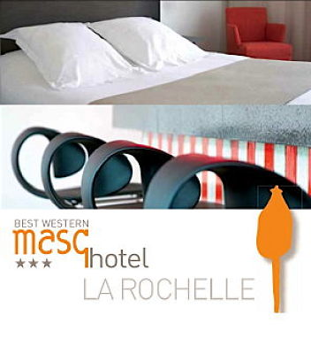 illustration de La Rochelle Escales Shopping : promo au Masqhotel, 3 étoiles et design