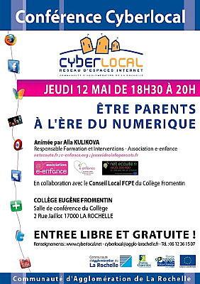 illustration de La Rochelle : les ados et internet, jeudi 12 mai 2011 au collège Fromentin