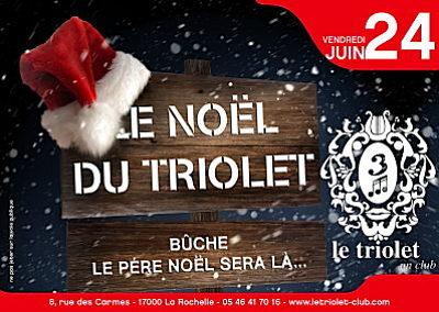 illustration de La Rochelle clubbing : LE Noël du Triolet, vendredi 24 juin 2011 !