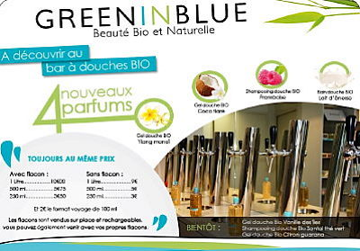 illustration de La Rochelle : nouveautés BIO et parfums d'été au bar à douche !