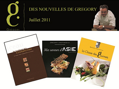 illustration de La Rochelle : recettes et techniques, promos d'été sur les livres de Grégory Coutanceau !