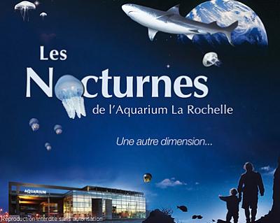 illustration de La Rochelle : l'astuce de l'été, découvrez l'Aquarium en nocturne !!!