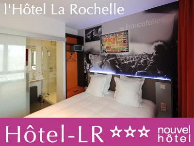 illustration de Hôtel La Rochelle : vacances au port des Minimes, nouvel hôtel design et high-tech