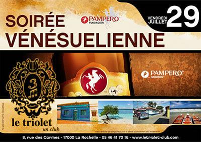 illustration de La Rochelle clubbing : soirée Vénézuélienne, vendredi 29 juillet 2011
