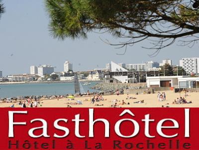 illustration de Week-end et vacances à La Rochelle : un hôtel pas cher ? Fasthotel aux Minimes !