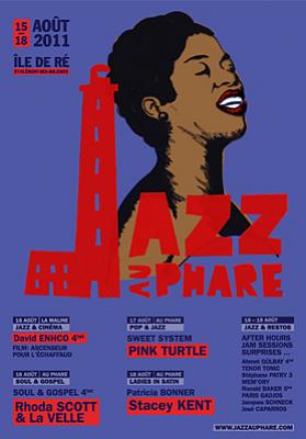 illustration de La Rochelle - île de Ré : festival Jazz au Phare, RV au Phare des Baleines du 15 au 18 août 2011 !