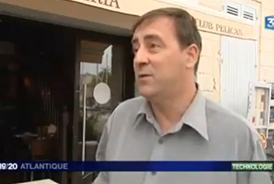 illustration de La Rochelle NFC et Web Mobile : dmonstration sur France 3 Atlantique