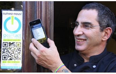illustration de NFC à Paris : découvrir un bon restaurant et tester en même temps le NFC, Near field communication !
