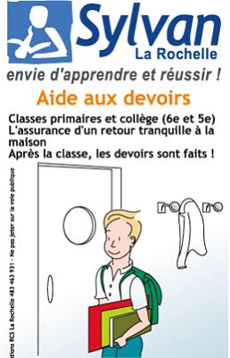 illustration de La Rochelle : aide aux devoirs, après l'école avec Sylvan La Rochelle