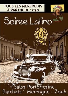 illustration de La Rochelle : comme tous les mercredis c'est soirée latino, le 14 décembre 2011, au Triolet !