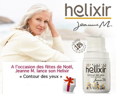 illustration de La Rochelle beauté naturelle des peaux matures : le premier soin de la nouvelle marque Helixir disponible pour Noël !