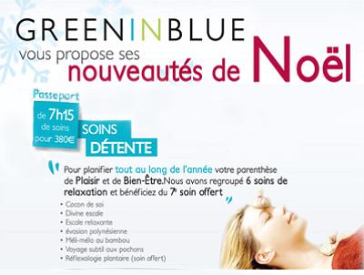 illustration de La Rochelle beauté bio et bien-être : le cadeau magique 7 soins par Green in Blue !!!