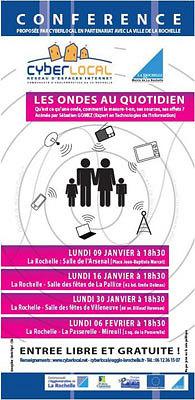 illustration de La Rochelle : les ondes au quotidien, conférence, lundi 9 janvier 2012 à 18h30