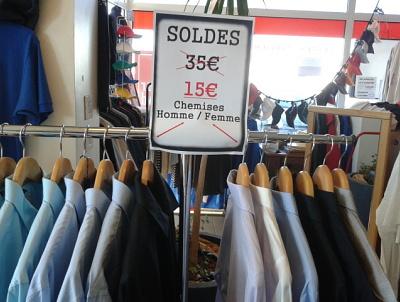 illustration de La Rochelle : SOLDES ! SOLDES ! SOLDES ! SOLDES ! Chez BAO Spécialiste de la communication textile