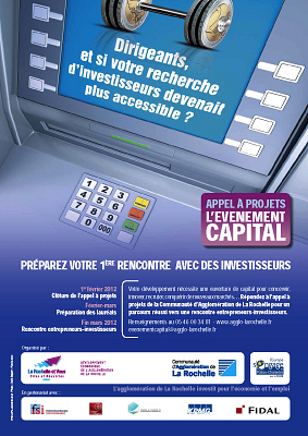 illustration de La Rochelle - financement et entreprises : Événement CAPITAL, appel à projets jusqu'au 1er février 2011