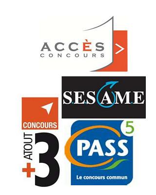 illustration de Préparation aux concours Sesame, Pass, Accès, Atout 3