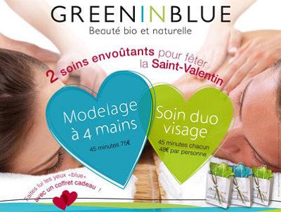 illustration de La Rochelle beauté bio et bien-être : soins envoûtants pour la Saint Valentin 2012 !