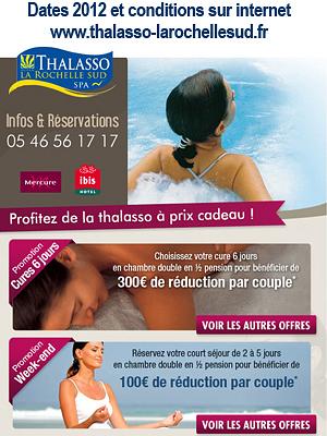 illustration de Châtelaillon - La Rochelle : Thalasso à prix cadeaux, profitez-en !