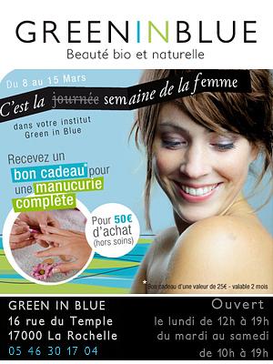 illustration de La Rochelle semaine de la femme bio et naturelle jusqu'au 15 mars 2012