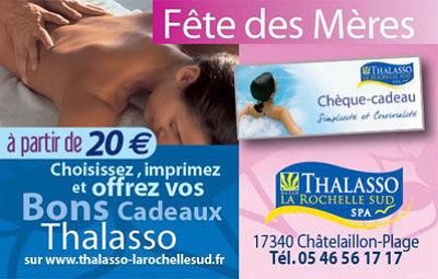 illustration de La Rochelle - Châtelaillon : idées cadeaux Thalasso pour la fête des mères !