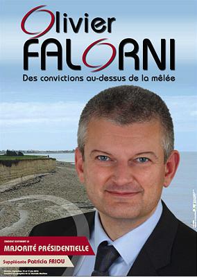 illustration de Élection législatives 2012 - La Rochelle - Ré : les rendez-vous de campagne d'Olivier Falorni, candidat de gauche soutenant la majorité présidentielle
