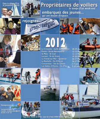 illustration de La Rochelle : Initiative Grand Largue La Rochelle, navigation solidaire les 26 et 27 mai 2012