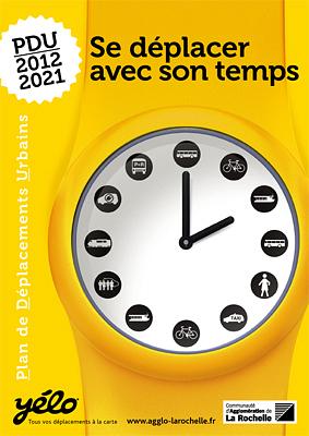 illustration de La Rochelle mobilité : P.D.U, Plan de déplacements urbains 2012-2021, enquête publique 29 mai - 29 juin 2012