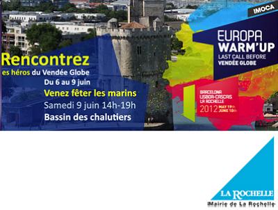 illustration de Voile - nautisme : Europa Warm'Up nouveau rendez-vous à La Rochelle 4 - 9 mai 2012