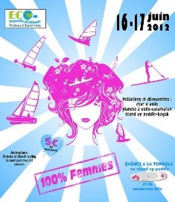 illustration de Echo-Mer à la Pink-Sailing le 16 & 17 Juin (Baie de Bonne Anse La Palmyre)