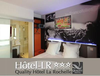 H tel la rochelle derni res chambres en ville pour les for Derniere chambre hotel
