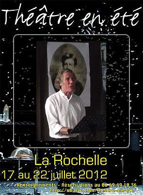 illustration de Rimbaud à La Rochelle par la Cie Passeparole