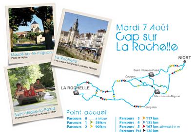 illustration de La Rochelle : ville étape de la Semaine fédérale internationale de cyclotourisme, mardi 7 août 2012 !
