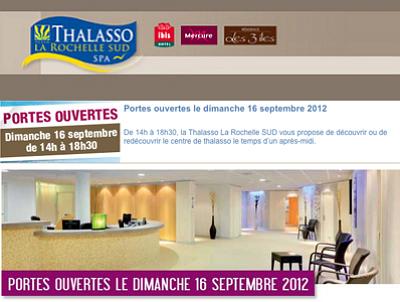 illustration de La Rochelle - Châtelaillon-Plage : portes ouvertes à la Thalasso, dimanche 16 septembre