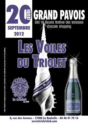 illustration de Terrasse et clubbing au Grand Pavois de La Rochelle : les voiles du Triolet, jeudi 20 septembre 2012